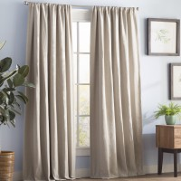 Gracie Oaks Reyna Solid Blackout Thermal Rod Pocket Single Curtain Panel GRKS8098