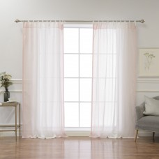 Highland Dunes Sav Abstract Sheer Tab Top Curtain Panels HLDS5800