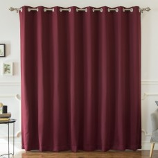 Mercury Row Buskirk Solid Blackout Thermal Grommet Single Curtain Panel MROW8292