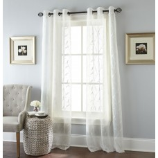 Nanshing America, Inc Summer Breeze Grommet-top Curtain Panels NAAM1119