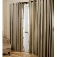 Plow Hearth Thermalogic™ Energy Efficient Insulated Solid Semi-Sheer Thermal Tap Top Curtain Panel PLHE1259