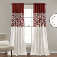 Red Barrel Studio Santa Fe Print Nature/Floral Room Darkening Thermal Rod Pocket Curtain Panels RDBL3976