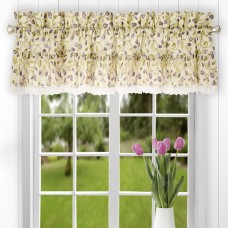 "August Grove Chasville Ruffled 52"" Curtain Valance AGTG3523"