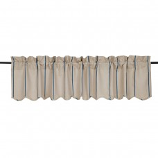 Laurel Foundry Modern Farmhouse Boucher Scalloped Curtain Valance LRFY2324