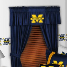"Sports Coverage NCAA 88"" Michigan Wolverines Curtain Valance PS1203"