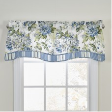 Waverly Floral Engagement Curtain Valance VUEE1343