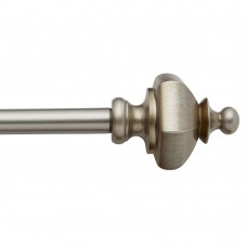 baliblinds Pawn Urn Decorative Single Curtain Rod Hardware Set SWFA1018