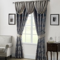 Waterford Bedding Chateau Room Darkening Rod Pocket Curtain Panel XBPW1079