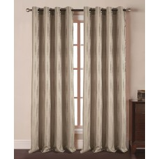 Winston Porter Lynne Geometric Semi-Sheer Grommet Single Curtain Panel WNPR4996