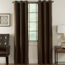 Ardor Home Solid Blackout Thermal Grommet Curtain Panels ADRH1019