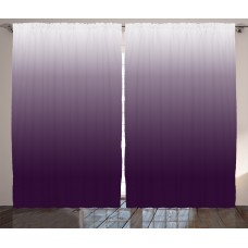 Latitude Run Cooksey Ombre Gradient Harmony of Trendy Vivid Colors Themed Modern Design Artwork Graphic Print Text Semi-Sheer Rod Pocket Curtain Panels LRUN5089