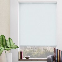 SoHo Shade Company Grey Blackout Roller Shade SSHC1021