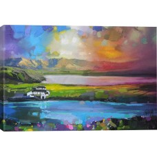 East Urban Home 'Gesto Farm Skye' Graphic Art Print ESRB7166