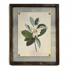 Lark Manor 'Flowering Magnolia' Framed Graphic Art Print LRKM1214