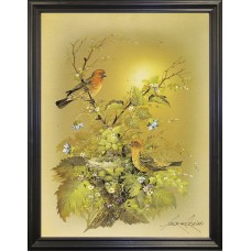 Charlton Home 'Bird' Graphic Art Print FSUL0589