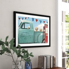 Red Barrel Studio 'Lets for a Ride II' Framed Graphic Art Print RDBA2423
