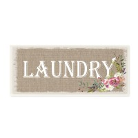 August Grove 'Floral Linen Laundry' Textual Art VYH8130
