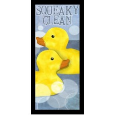 Buy Art For Less 'Squeaky Clean II Poster'  by Beth Albert Framed Graphic Art BYAR2890