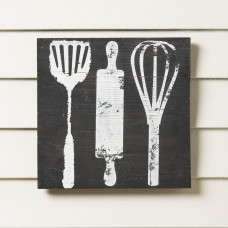 Birch Lane™ Reclaimed Wood Utensils Print BL4536