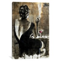 East Urban Home 'Cocktail' Graphic Art Print on Canvas ESUR8698