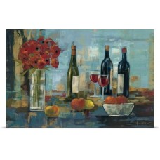 Great Big Canvas 'Fruit and Wine' by Silvia Vassileva Painting Print GBCN4124