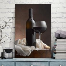JaxsonRea 'Red Wine Cork' by Barry Seidman Photographic Print on Wrapped Canvas REAJ1778
