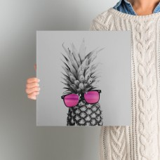 Mercury Row Mrs. Pineapple Photographic Print on Wrapped Canvas MROW4965