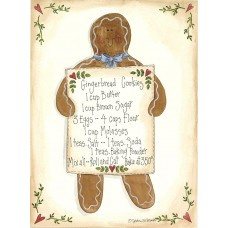The Holiday Aisle 'Gingerbread Cookies' Graphic Art Print FSUS4712