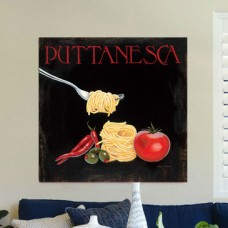 iCanvas 'Italian Cuisine' Graphic Art Print on Canvas IZN12602