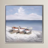 Birch Lane™ Seaside Oil Painting Print BL13367