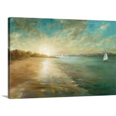 Great Big Canvas 'Coastal Glow' Danhui Nai Painting Print GRWO1153