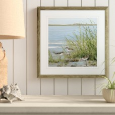 Longshore Tides 'Afternoon on the Shore III' Framed Acrylic Painting Print LNTS1607