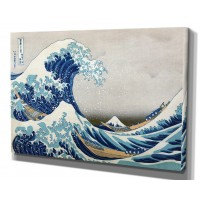 WexfordHome 'The Great Wave' by Katsushika Hokusai Framed Painting Print WEXF1806